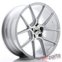 JR Wheels JR30 19x8,  5 ET40 5x112 Silver Machined Face JR3019855L4066SM