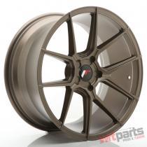 JR Wheels JR30 19x9,  5 ET20-40 5H BLANK Matt Bronze JR3019955X2074MBZ