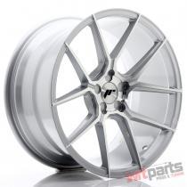 JR Wheels JR30 19x9,  5 ET35-40 5H BLANK Silver Machined Face JR3019955X3574SM