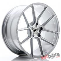 JR Wheels JR30 20x10 ET20-40 5H BLANK Silver Machined Face - JR3020105X2074SM