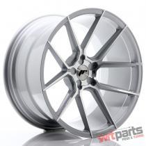 JR Wheels JR30 20x11 ET20-30 5H BLANK Silver Machined Face - JR3020115X2074SM