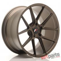 JR Wheels JR30 20x11 ET30-50 5H BLANK Matt Bronze - JR302011F25X3074MBZ