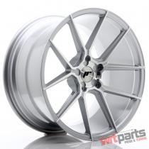 JR Wheels JR30 20x11 ET30-50 5H BLANK Silver Machined Face - JR302011F25X3074SM