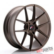 JR Wheels JR30 20x8,  5 ET20-42 5H BLANK Matt Bronze JR3020855X2074MBZ