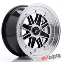 JR Wheels JR31 15x7.5 ET20 4H BLANK Gloss Black Machined Face JR3115754X2073GBM