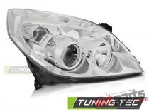 HEADLIGHTS CHROME RIGHT SIDE TYC fits OPEL VECTRA C 09.05-08 FOP02R