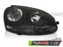 HEADLIGHTS BLACK RIGHT SIDE TYC fits VW GOLF 5 10.03-09 FVW45R