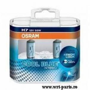 Osram Cool Blue Intense H7 12V 55W Cutie 2 pieces OSR64210 CBI-DUO