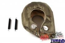 Exhaust turbo blanket T3 titanium type 1 MG-TT-023