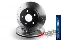 High Performance front brake disc BMW E46 2911HP/T5