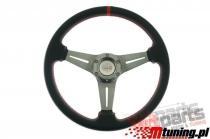 Steering wheel Pro 350mm offset:20mm Carbon Red PP-KR-026