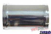 Aluminium pipe 0deg 60mm 10cm PP-IC-059