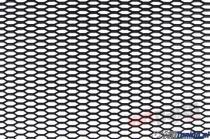 ABS mesh grill HONEY COMB BLACK 120 * 40cm - PP-SI-018