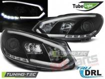 VW GOLF 6 10.08-12 BLACK TUBE LIGHTS TRU DRL LPVWI5