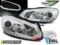 VW GOLF 6 10.08-12 CHROME TUBE LIGHTS TRU DRL LPVWI4