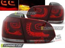VW GOLF 6 10.08-12 RED WHITE LED LDVW70