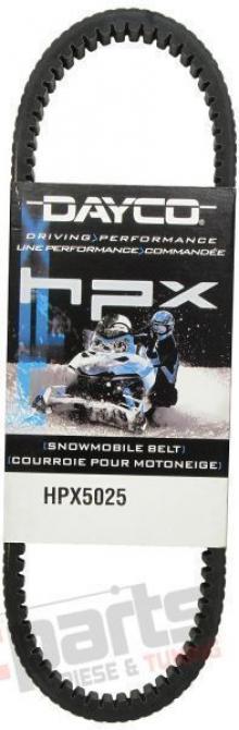 Snowmobile transmission belt - HPX5025