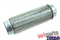 """Exhaust flex pipe 1,  75x10"""""""" stainless TW-TL-202"""