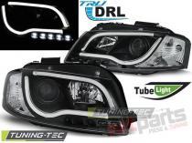 AUDI A3 8P 05.03-03.08 LED TUBE LIGHTS BLACK TRU DRL LPAUB1