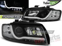 AUDI A4 10.00-10.04 LED TUBE LIGHTS BLACK - LPAU88