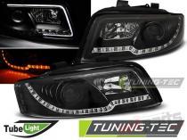 AUDI A4 10.00-10.04 LED TUBE LIGHTS BLACK LPAUC3