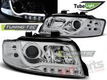 AUDI A4 10.00-10.04 LED TUBE LIGHTS CHROME LPAU87