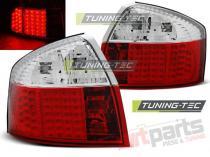 AUDI A4 10.00-10.04 RED WHITE LED LDAU79