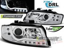 AUDI A4 10.00-10.04 TUBE LIGHTS CHROME TRU DRL - LPAUB2