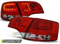 AUDI A4 B7 11.04-03.08 AVANT RED WHITE LED - LDAU37