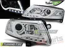 AUDI A6 C6 04.04-08 LED TUBE LIGHTS CHROME LPAU95