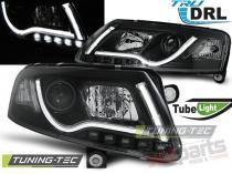 AUDI A6 C6 04.04-08 LED TUBE LIGHTS TRUE DRL BLACK - LPAUC8