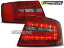AUDI A6 C6 SEDAN 04.04-08 RED WHITE LED LDAU73