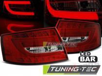 AUDI A6 C6 SEDAN 04.04-08 RED WHITE LED 6PIN LDAUC0