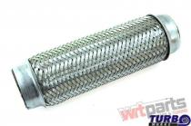 """Exhaust flex pipe 3x10"""""""" stainless TW-TL-210"""