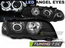 BMW E46 05.98-08.01 S/T ANGEL EYES LED BLACK - LPBMG1