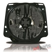 Headlights in Iron Cross Design suitable for VW Golf II 191941753ICS