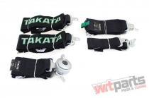 """Racing seat belts 5p 3"""" Black - Takata Replica harness JB-PA-028"""