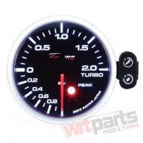 DEPO gauge PK 52mm - TURBO ELECTRIC -1 to 2 BAR - DP-ZE-060