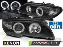 BMW E46 04.03-06 COUPE CABRIO ANGEL EYES CCFL XENON BLACK LPBMH5
