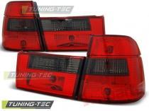 BMW E34 91-96 TOURING RED SMOKE - LTBM59