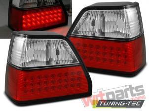 VW GOLF 2 08.83-08.91 RED WHITE LED LDVW33