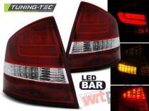 SKODA OCTAVIA II SEDAN 04-12 RED WHITE LED BAR - LDSK11