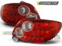 PEUGEOT 206 10.98- RED WHITE LED LDPE13