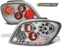 PEUGEOT 307 04.01-07 CHROME LED LDPE03
