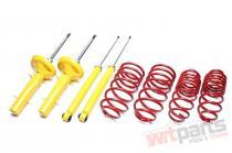 Kit suspensie sport fixa pentru Volkswagen Polo  Ta-Technix EVOVW111