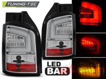 VW T5 04.03-09 CHROME LED BAR LDVW91
