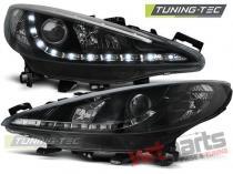 Peugeot 207 05.2006-06.2012 taillights  - LPPE23