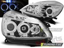 Renault Clio III 2005-2009 Angel Eyes headlights - LPRE27
