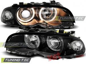 BMW E46 04.1999-08.2001 Angel Eyes Headlights - LPBM34