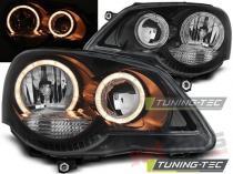 Volkswagen Polo 9N3 04.2005-2009 Angel Eyes headlights LPVWE3
